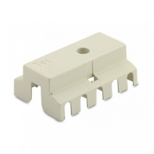 Pokrywa izolacyjna do złączek serii m093 5p pa6.6 biała op. 500 szt. BM Group 935