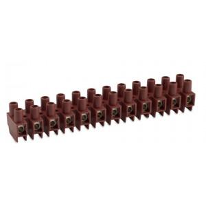 Listwa zaciskowa śrubowa 5p 2,5 mm2 z ochroną przewodu polamid kolor naturalny op. 750...