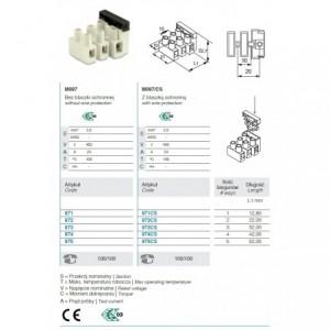Szczypce do zaciskania końcówek bnc na kablach koncentrycznych rg 58/59/62/71, model 1607
