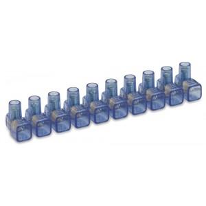 Listwa zaciskowa śrubowa 10 torowa 1,5 mm2 (2x1,5 2-3x1 2-4x0,75 mm2) op. 10 szt. BM...