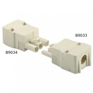 Wtyk szybkozłaczki elektrycznej 3p 2,5 mm2 biały obudowa biała pa6.6 op. 50 szt. BM...