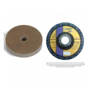 Ściernica prasowana z włókniny flexbrite na podkładzie z włókna szklanego kształt t27...
