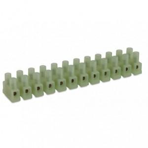 Listwa zaciskowa śrubowa 8p 4 mm2 polamid kolor naturalny op. 100 szt. BM Group N9201/8