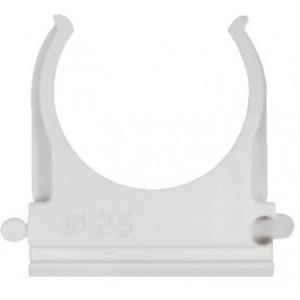 Uchwyt do mocowania rur klips fs śr50 abs szary samogasnący op. 25 szt. BM Group TPZFS50