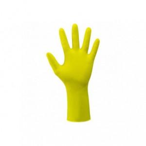 Rękawice house monkey żółt.dł.m/8 (4szt Beta 393048/M