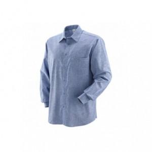 Koszula bawełn.chambray jasno-nieb.xxl Beta 431020/XXL