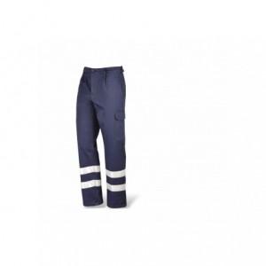 Spodnie robocze bawełn.z elem.ostrzegawcze r.48 Beta 435230/48