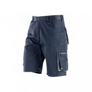 Spodnie krótkie t/c granatowo-szare l Beta 437088/L
