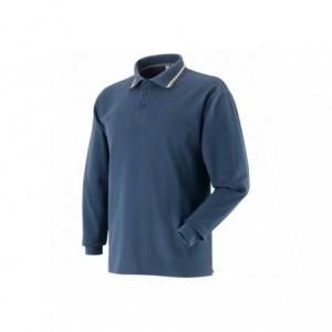 Koszulka polo tricolor granatowa l Beta 471056/L