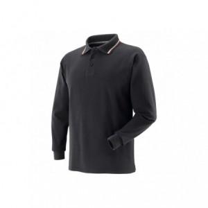 Koszulka polo tricolor czarna l Beta 471058/L