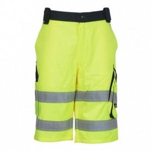 Spodnie bermudy robocze ostrzeg.żółt-gran.54 Beta VWTC114YN/54