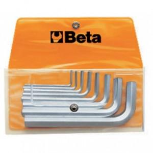 Komplet kluczy trzpieniowych kątowych sześciokątnych 96 2-10mm 8 sztuk w pokrowcu Beta...