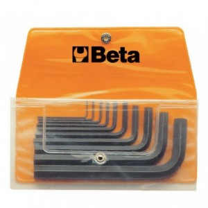 Komplet kluczy trzpieniowych kątowych sześciokątnych 96n 1,5-12mm 10 sztuk w pokrowcu...