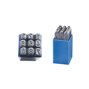 Kpl.znaczników standard cyfry 2,5mm Beta 100025K0