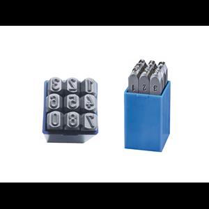 Kpl.znaczników standard cyfry 15mm Beta 100150K0