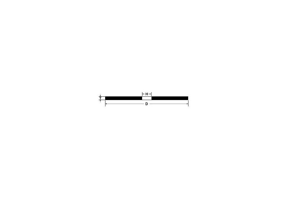 Tarcza tnąca do stali inox 125x1x22,23mm a36n t41 abrabeta