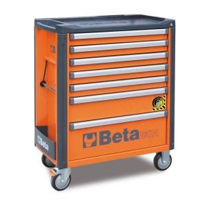 Wózek narzędziowy c37a 7 szufl.pomar.