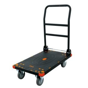 Wózek transportowy ze składanym uchwytem