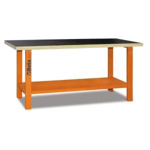 Stół warsztatowy c56b pomarańczowy