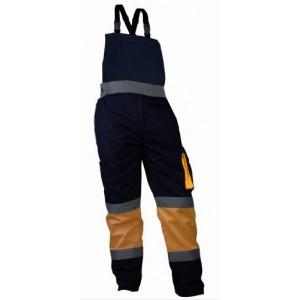 Spodnie n/szelkach ostrzeg.pom-gran.xl