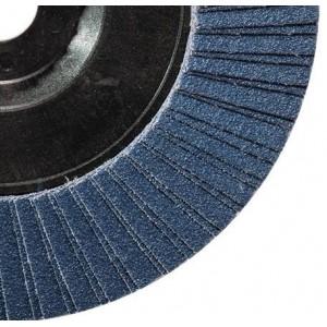 Ściernica listkowa talerzowa płaska cyrkonowa z60 talerz nylonowy 115x22mm listki...