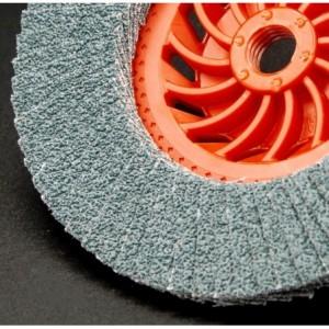 Ściernica listkowa talerzowa płaska wentylowana cyrkonowa z40 talerz nylonowy 125xm14...