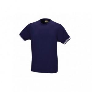 T-shirt bawełna granatowy 7549bl m