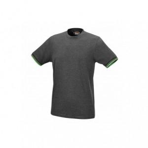 T-shirt bawełna szary 7549g s