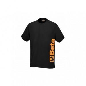 T-shirt bawełna czarny 7549n l
