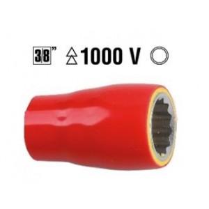 Nasadka 3/8 12mm w izolacji do 1000v