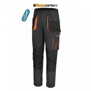 Spodnie rob.easy light szare 7860g xl