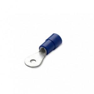 Końcówka oczkowa miedziana cynowana izolowana 2.5/5 pvc zakres 1.5-2.5 mm2 niebieska 25...