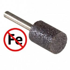 Ściernica spojona trzpieniowa spoiwo organiczne ziarno ścierne elektrokorund wolne od...