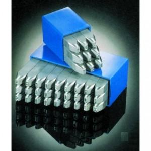 Znaczniki stemple literowe Extra 15 mm Litery wielkie