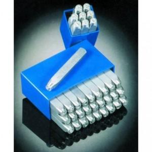 Znaczniki stemple literowe Typ R 10 mm Litery wielkie