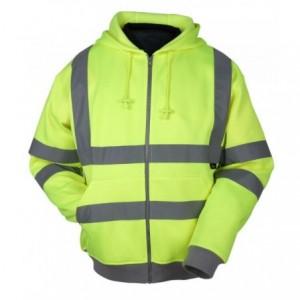 Bluza ostrzegawcza z kapturem żółta m Beta VWFC14Y/M