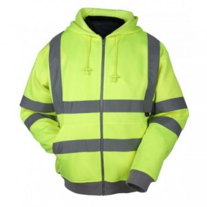 Bluza ostrzegawcza z kapturem żółta xl Beta VWFC14Y/XL