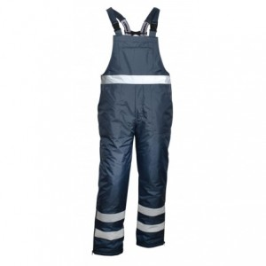 Spodnie na szelkach gran.z el.ostrzegawcze xxl Beta VWJK113N/XXL