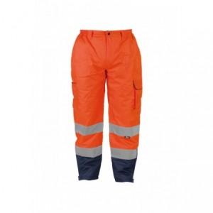 Spodnie zimowe ostrzeg.pomar-granat.l Beta VWJK187O/L