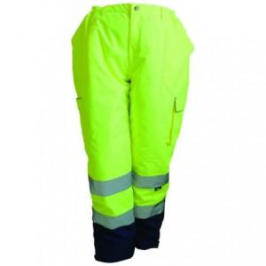 Spodnie zimowe ostrzeg.żółto-granat.s Beta VWJK187Y/S