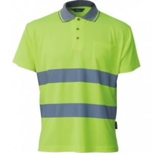 Koszulka polo ostrzeg.coolpass żółta l Beta VWPS01-AY/L