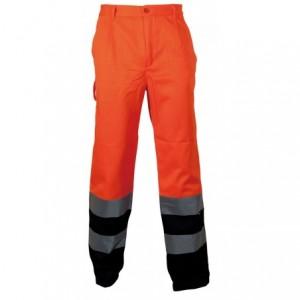 Spodnie robocze ostrzeg.pomar.-granat.l Beta VWTC07-2BON/L