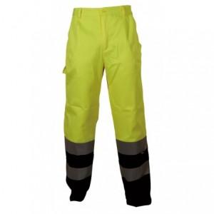 Spodnie robocze ostrzeg.żółto-granat.xl Beta VWTC07-2BYN/XL
