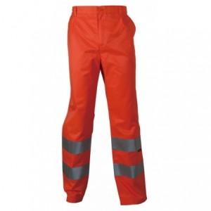 Spodnie robocze ostrzeg. pomarańczowe s Beta VWTC07-2O/S