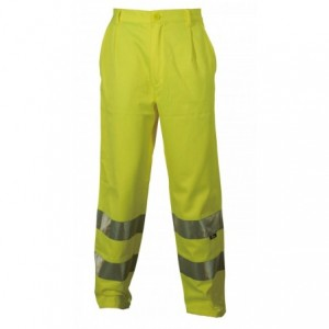 Spodnie robocze ostrzegawcze żółte l Beta VWTC07-2Y/L