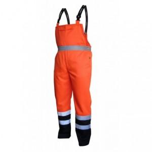 Spodnie na szelkach ostrzegawcze pom.-gran.xxl Beta VWTC08-BON/XXL
