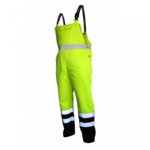 Spodnie na szelkach ostrzegawcze żółto-gran.l Beta VWTC08-BYN/L