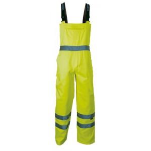 Spodnie na szelkach ostrzegawcze pom.s Beta VWTC08O/S