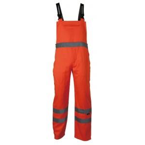 Spodnie na szelkach ostrzegawcze żółte xl Beta VWTC08Y/XL