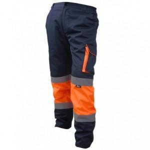 Spodnie robocze ostrzegawcze contrast pom-gran.xxl Beta VWTC17ON/XXL
